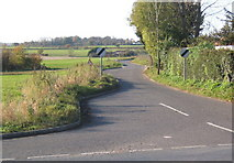 TM1551 : Start of lane to Barham from Henley by Andrew Hill