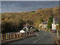 SN7372 : Main road, Pontrhydygroes by Nigel Brown