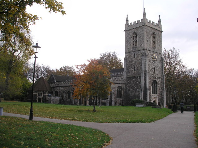 St. Dunstan's Church, Stepney, East London