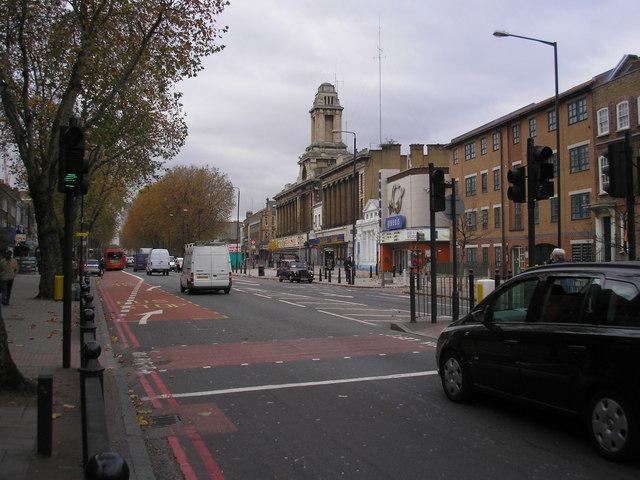 Mile End Road, East London