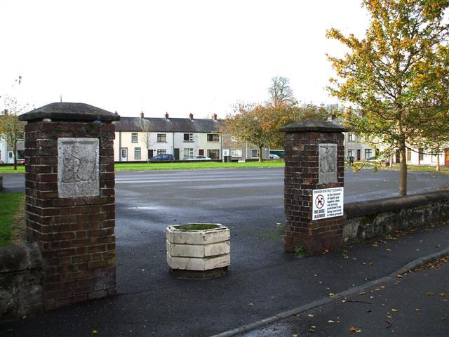 Entrance, King George V Field, Omagh
