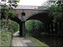 TQ2783 : Bridge carrying Avenue Road over Regent's Canal by Oxyman