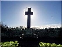 NY9874 : Hallington & Bingfield War Memorial by Brian Norman