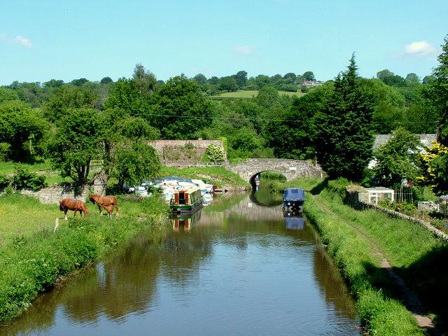 Monmouthshire & Brecon Canal, Llangattock