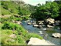 SH5946 : Afon Glaslyn by George Tod