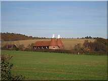 TQ6326 : Bivelham Oast House, Witherenden Road, Mayfield, East Sussex by Oast House Archive