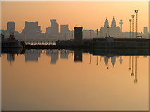 SJ3290 : Liverpool from Alfred Dock by Tim Greenshaw