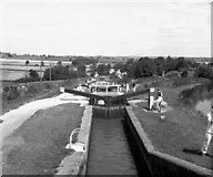 SP6989 : Looking down Foxton Locks by Dr Neil Clifton