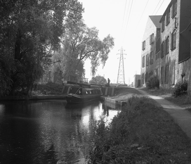 St. Mary's Mill Lock, Leicester Section, Grand Union Canal