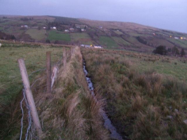 View across the Finn valley