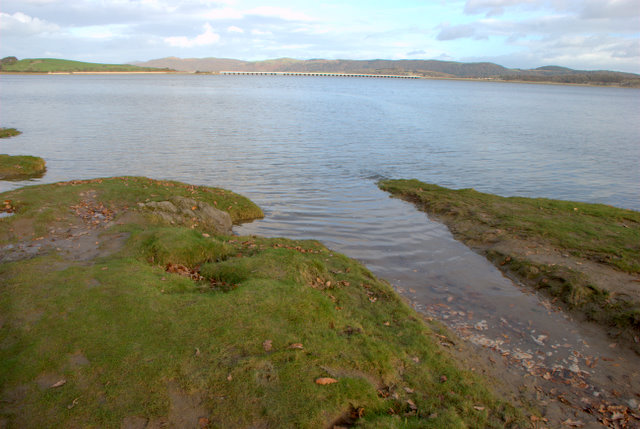 Plumpton Bight at high tide