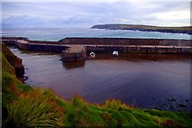 NB5363 : Port of Ness harbour / Cala Port Nis by Tiger