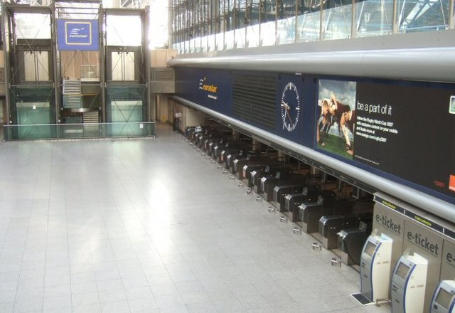 Waterloo Eurostar Terminal