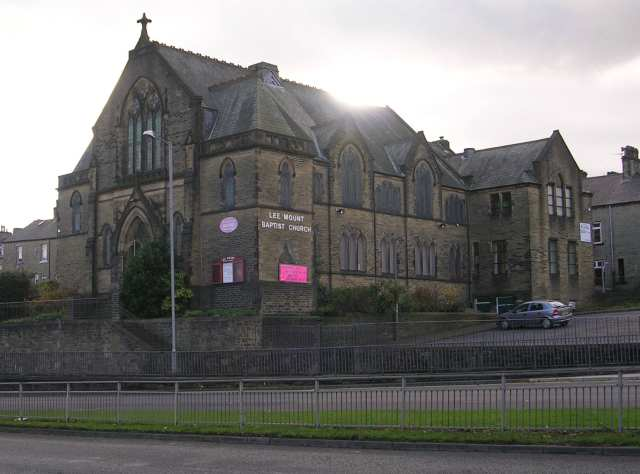 Lee Mount Baptist Church - Ovenden Road