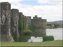 ST1587 : Caerphilly Castle by Robin Drayton