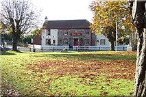 TR2647 : Shepherdswell village green by Steve