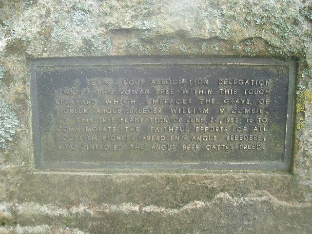 Texas Angus plaque