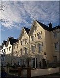 SX9193 : Queen's Court Hotel, Exeter by Derek Harper