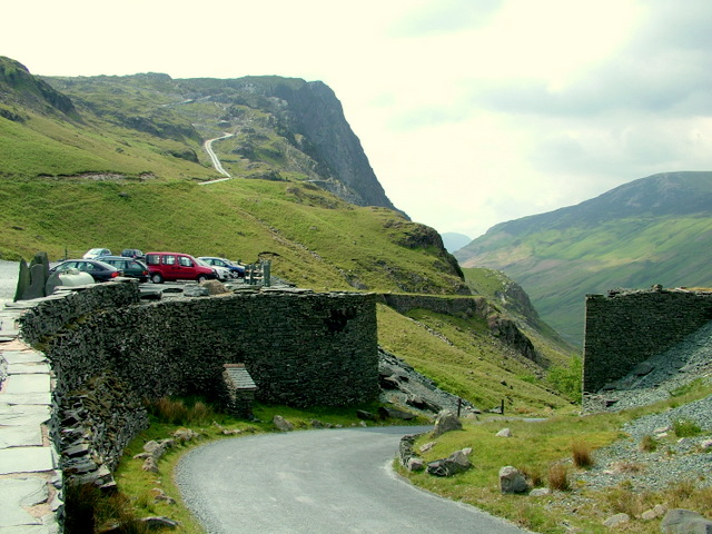 Summit of Honister Pass