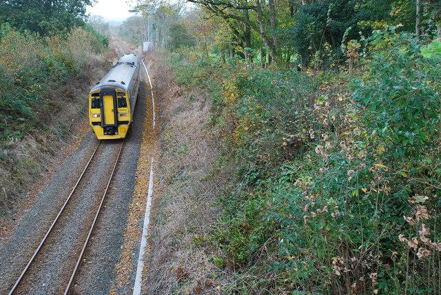 Rheilffordd Y Cambrian Cricieth Cambrian Railway