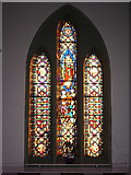 SD4455 : Christ Church, Glasson, Stained glass window by Alexander P Kapp
