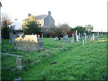 SD4455 : Christ Church, Glasson, Graveyard by Alexander P Kapp
