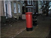 SU5806 : Pillar box in The High Street by Basher Eyre