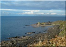 NS2414 : Coastal View by Mary and Angus Hogg