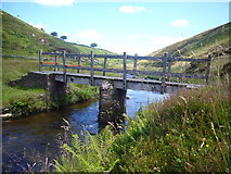SS7438 : Bridge over the Barle at Cornham Ford by Nigel Mole