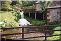 SD0997 : Muncaster Mill from the train. by Jo Turner