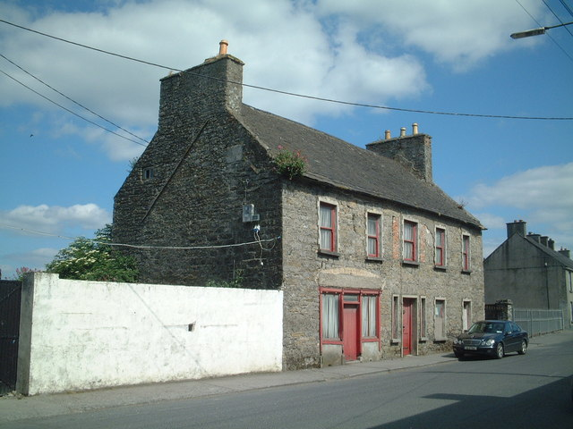 Old house, Main Street, Banagher