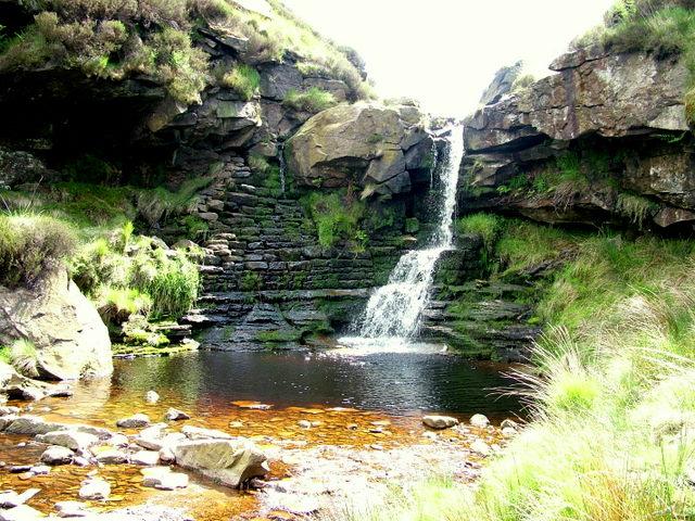 Waterfall near Wessenden Reservoir
