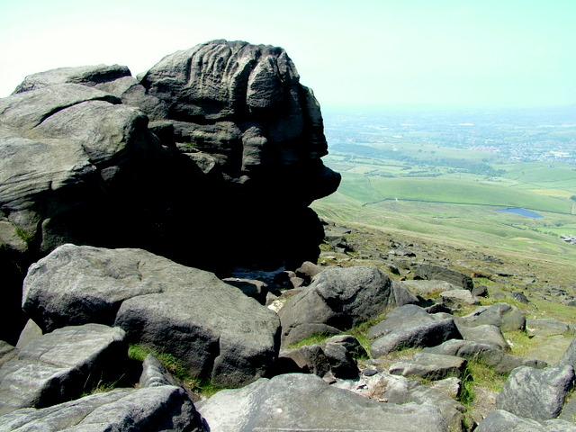 Rock Formations on Blackstone Edge
