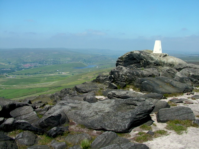 Trig Point on Blackstone Edge