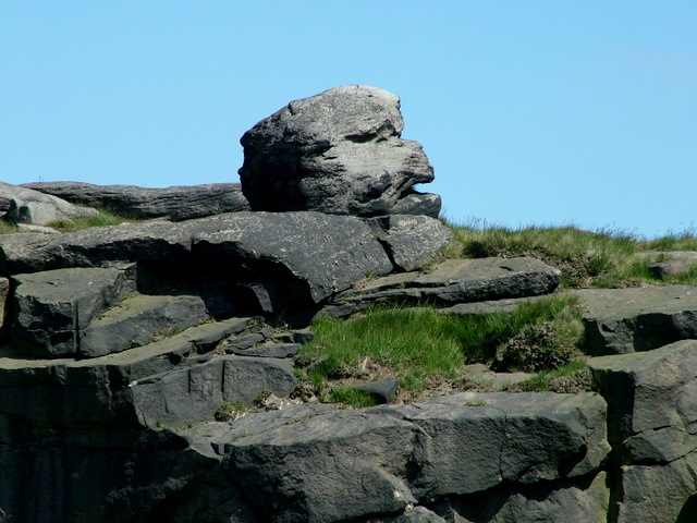 Rock Formation on Utley Edge