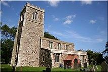 TA3719 : St.Helen's church, Skeffling by Richard Croft