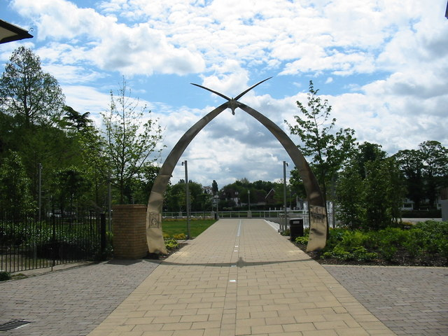 The Swan Arches at the Memorial Gardens
