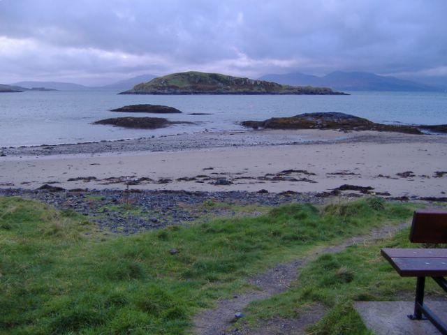 Shoreline near Camas Ban