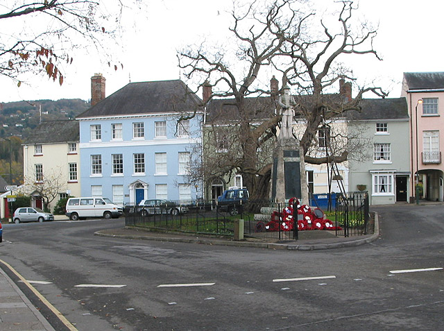 War Memorial, St. James' Square, Monmouth