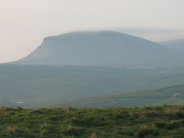 a485ca2dd Pen-Y Ghent one of the 3 peaks in the... © Liz Simpson cc-by-sa/2.0 ...
