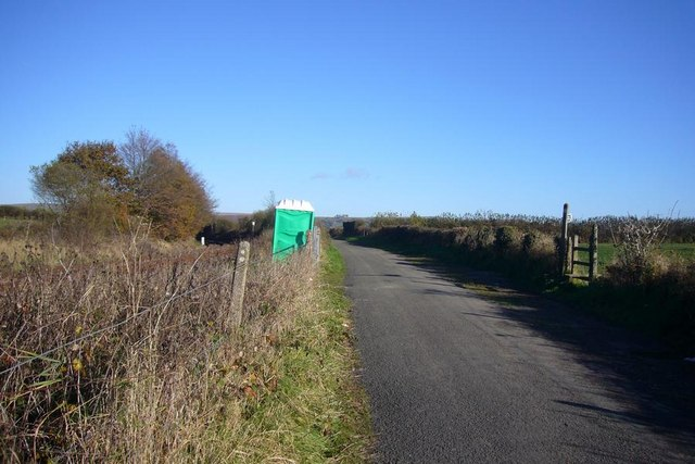 Road, railway and footpath