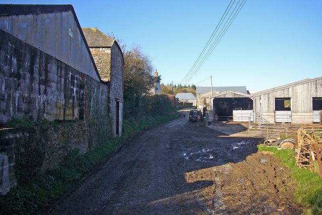 Lower Venton farm