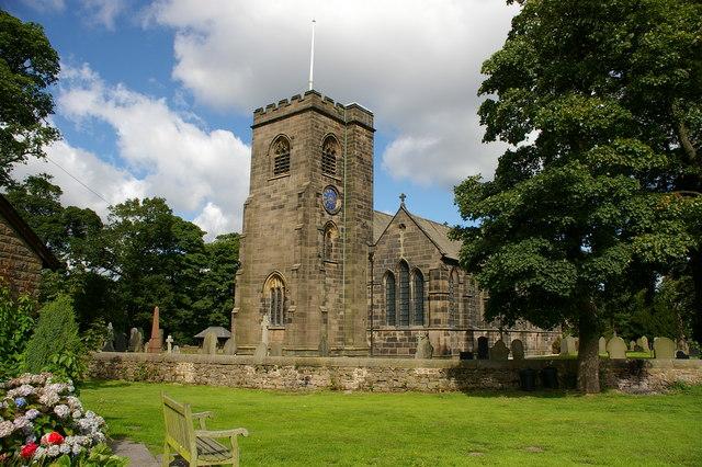 Holy Trinity Parish Church, Hoghton