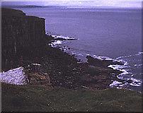 ND2076 : Cliffs at Dunnet Head by Trevor Rickard
