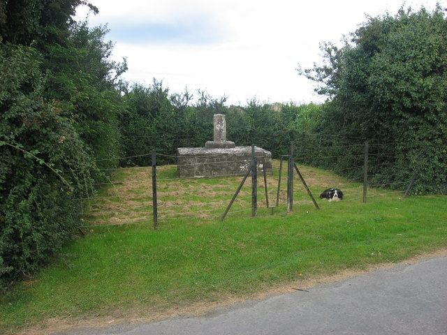 Wayside cross, Sarsfieldstown, Co. Meath
