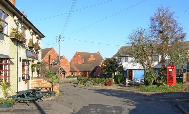 The Main Street in Willey, Warwickshire