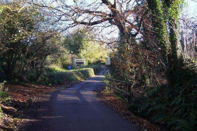 Bridge over brook at Combegate