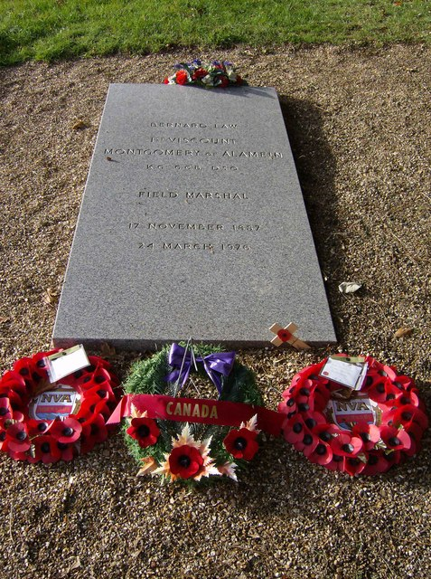 Monty's grave