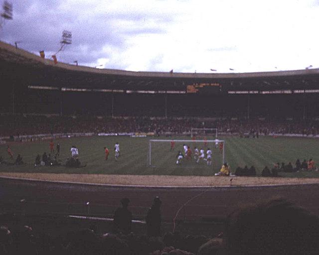 The Charity Shield of 1974 at Wembley
