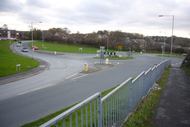 Roundabout in Chaddlewood